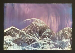 Doug Scott Signed Poster Everest South West First Ascent 1975 Art Mountaineering