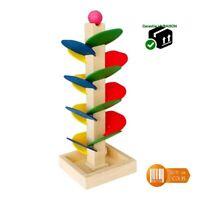 Arbre en bois Montessori à assembler Hauteur 21 cm Jeu de cascade Motricité fine