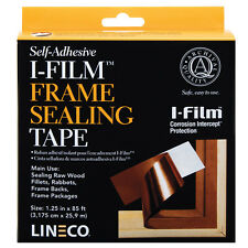 "I-Film Frame Sealing Tape 1.25"" X 85' Self Adhesive by LINECO    (Bin 2134-IF85)"