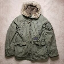 Abercrombie And Fitch Mt Washington Jacket Sherpa Lined Sz Lg Lots of Character