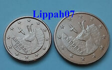 Andorra 1 en 2 cent 2017 UNC