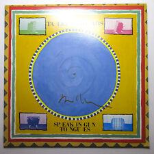 David Byrne Signed Talking Heads 'Speaking in Tongues' Vinyl Album Proof JSA B