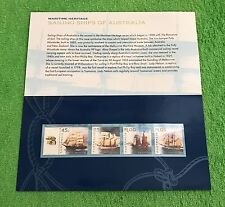 1999 Maritime Heritage - Sailing Ships of Australia Presentation Pack & Gift!