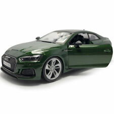 Audi RS 5 Coupe 2018 1:24 Scale Model Car Diecast Toy Vehicle Green Collection