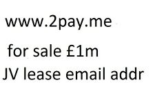 domain name for sale www.2pay.me never used pay.me is for sale 4 offers over £1m