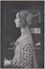 D6733 Domenico Ghirlandaio - Ritratto Giovanna Tornabuoni - Stampa - 1930 print