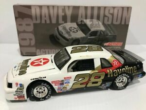 Davey Allison #28 Havoline/Rookie of the Year 1/24 Action 1987 Thunderbird