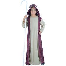 BOY'S SHEPHERD CHRISTMAS NATIVITY FANCY DRESS CHILD JOSEPH COSTUME