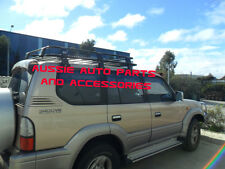 Fully Enclosed Deluxe Alloy Roof Rack Cage 1650mm Toyota Landcruiser  Prado 90s