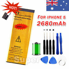 OZ Just for Apple iPhone 5 Battery Replacement 5G Gold 2680mAh Tools Kit