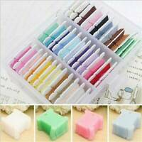 50pcs Embroidery Floss Craft Storage Holder Thread Cross Stitch Bobbins Plastic