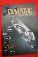 Akrapovic Motorrad Magazin / Prospekt von der EICMA 2019
