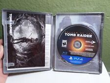 Shadow of The Tomb Raider Steel Book Edition Sony Ps4 Game (Game & Case)