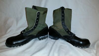 CIC 1960s GREEN VIETNAM HOT WEATHER SPIKE PROTECTIVE JUNGLE BOOTS JJ 317
