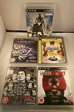 PS3 games bundle, Destiny, Saints Row 2 & the Third  Sleeping dogs, Homefront