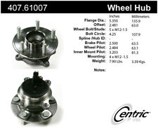 Wheel Bearing and Hub Assembly-Premium Hubs Rear Centric fits 12-18 Ford Focus