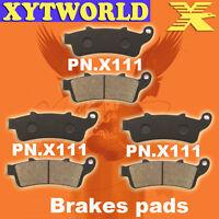 FRONT REAR Brake Pads HONDA VTX 1800 C2/C3/C4/C15/CA6/CA7 2002-05 2006 2007 2008