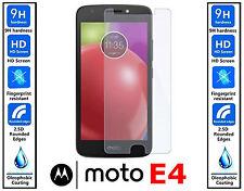 100% Originale Vetro temprato protettore schermo HD per Motorola Moto E4