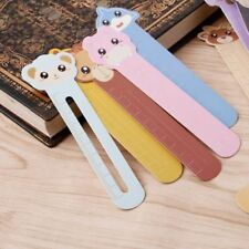 30pcs Animal Paper Bookmarks Book Holder Ruler Stationery School Supply With Box