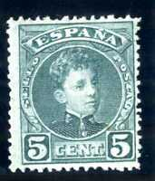 Sellos de España 1901-1905 Nº 242 Alfonso XIII sello nuevo Stamp Spain A1