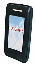 Silicona TPU, móvil cover case funda carcasa en negro para sony ericson aino