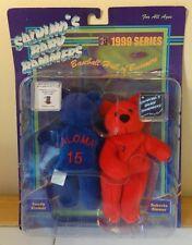 Salvino's Baby Bammers Sandy & Roberto Alomar 1999 Series Collectible Bears