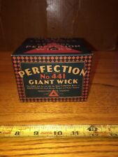 PERFECTION No 441 Giant Wick for oil cook stoves, ranges and Water Heaters
