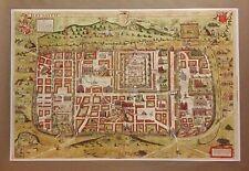 "Jerusalem City map 24"" x 36"" Reproduction Print Poster Christmas Gift Jesus Amen"