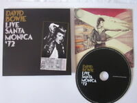 DAVID BOWIE -   Live In Santa Monica '72 -  CD )