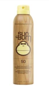 Sun Bum Original SPF 50 Sunscreen Spray 6 oz. Sunscreen, Ex - 02/22 (4 Pack)