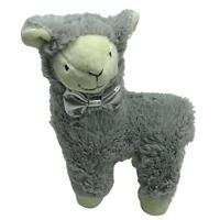 Rosewood Soft Plush Hidden Squeaker Grey Plush Llama Dog Puppy Toy  20cm