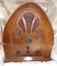 Welbilt Collector's Edition 1933 Wood Antique Reproduction Radio AM/FM Cassette