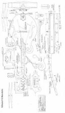Gibson  F5 mandolin style Plans -  full scale -   Large format