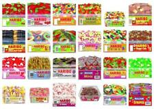 HARIBO SWEETS FULLY SEALED TUBS BOXES 30 VARIETIES WHOLESALE DISCOUNT DRUMS