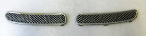 Genuine MINI Pair of Chrome Scuttle Panel Grills Grilles for R50 R52 R53 7122505