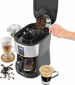 Salter Caffé Bean to Jug Coffee Maker Built in Grinder Fresh Coffee Programmable