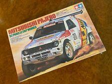 Tamiya 1:24 | FACTORY SEALED KIT | 1992 Mitsubishi Pajero | Paris Le Cap Winner