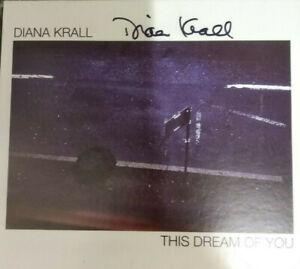 Krall Diana This Dream Of You CD Autografato Nuovo !