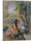 ARTCANVAS In The Meadow 1892 Canvas Art Print by Pierre-Auguste Renoir
