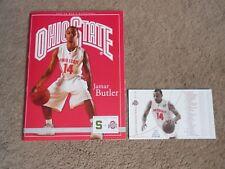 2008 Ohio State Michigan State Basketball Program Schedule Magnet Jamar Butler