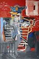 Jean-Michel Basquiat, La Hara 1981, Hand Signed Lithograph