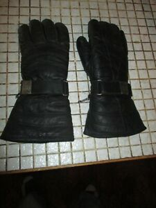 Vintage Harley Davidson Leather Women's Motorcycle Riding Gloves Size SMALL
