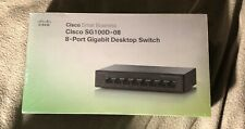 Cisco sg100d-08 8 Port Gigabit Desktop Switch, Cisco Small Business