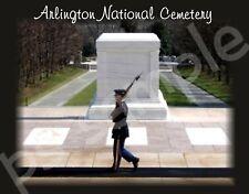 Virginia - Arlington National Cemetery - Travel Souvenir Flexible Fridge Magnet