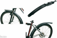 Zefal Classic Mudguard Set Black Front And Rear 24/26 Mountain Bike