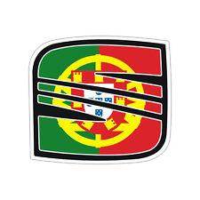 Sticker plastifié SEAT Leon Ibiza Toledo Mii  BLASON PORTUGAL - 6cm x 5cm