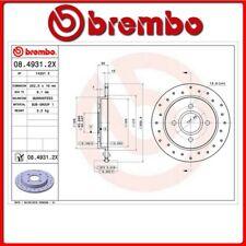 08.4931.2X#24 DISCO FRENO POSTERIORE SPORTIVO BREMBO XTRA FORD FIESTA VI Van 1.0