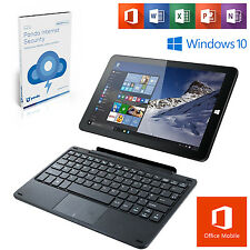 "Linx Windows 10 10.1"" Quad Core 32GB 2GB Tablet w/ Keyboard/Office Mobile/Panda"