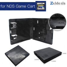 Replacement Case for NDS Nintendo Game Cart Spare Cartridge Black Box With Logo