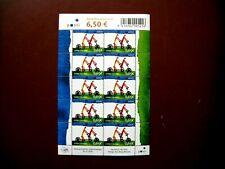Finland Stamp Sheet of Tandem SG768 2006